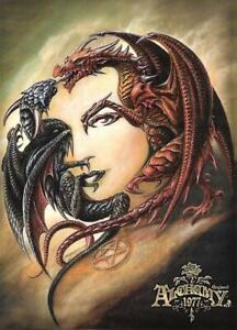Alchemy Gothic Morgan Theomachia Official Postcard
