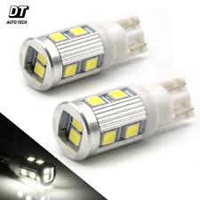 T10 168 High Power 2538 Chip LED 6000K Xenon White Reverse Backup Light Bulbs