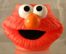 Applause Elmo Face Plastic Cup Mug Sesame Street