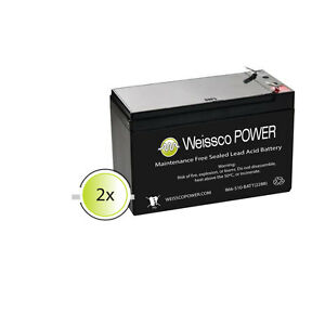 APC Back-UPS RS 1500 (BR1500G) - Brand New Compatible Replacement Battery Kit