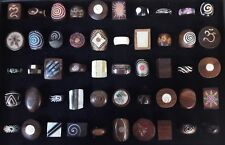 50 PCS Wholesale Jewellery Mixed Natural Handmade Wood Bone Fashion Ring Lot 75