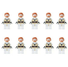 Lot of 10 Lego Star Wars Obi-Wan Kenobi Loose Mini Action Figure