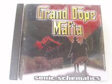 GRAND DOPE MAFIA - Sonic Schematics - RARE OZ CD