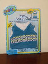 Webkinz Clothing - Smart Sweater Vest - New Sealed On Card WE000302