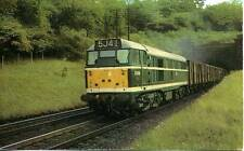Brush Type 2 Diesel D5610 Freight Train Welwyn Tunnel 1960s postcard