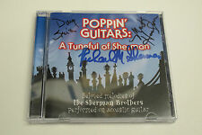 Poppin' Guitars: A Tuneful of Sherman SIGNED X5 RICHARD M. SHERMAN