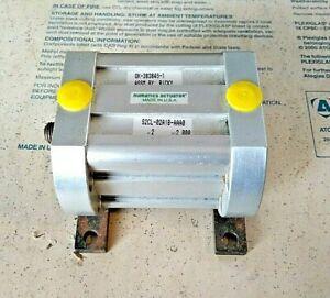 """Numatics Actuator S2CL-02A1B-AAA0 Bore 2"""" stroke 2"""" OK-383846-1"""