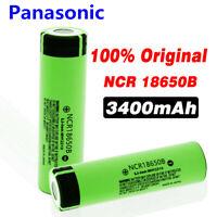 Panasonic NCR 18650 B 3400mAh Li-ion 3.7v Li-Ion Rechargeable Battery Flat Top