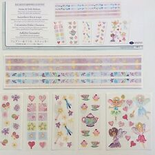 NEW Creative Memories FAIRIES & FRILLS STICKERS PACK