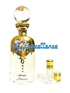 Sweet Flowers - Floral 3ml Oil Based Attar - Halwa Flower Itr Perfume