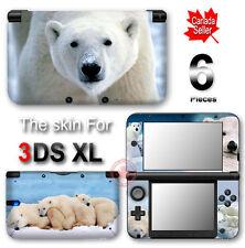 Polar Bear SKIN VINYL STICKER DECAL COVER for Nintendo 3DS XL