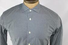 AUTH $345 Ermenegildo Zegna Men Cotton Tailored Fit Shirt XXL