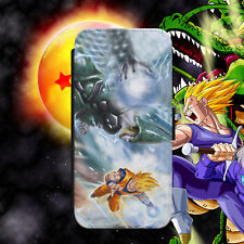 DBZ/DRAGON BALL/SONGOKU/CELL/FLIP WALLET PHONE CASE COVER FOR IPHONE/SAMSUNG