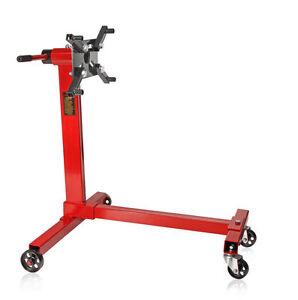 Support de moteur en acier sur roulettes 454 KG