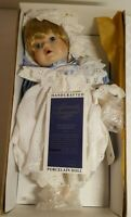 "Moments Treasured ""Melina"" Porcelain Doll**Vintage"