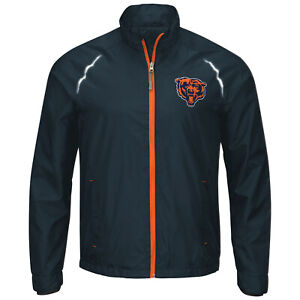 G-III Sports Chicago Bears Men's Interval Full Zip Jacket, M-5XL