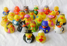 NEW 24 FUN NOVELTY FLOATING BATH DUCKS IN DIFFERENT OUTFITS CUTE! PMS NND