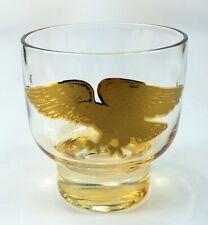 New ListingVintage Gilded Eagle Brandy Scotch Iridescent Glassware Glass