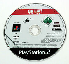 Sony PLAYSTATION 2 PS2 TONY HAWK'S PROJECT 8 2006 Activision SLES-54390