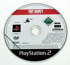 Sony PLAYSTATION 2 PS2 TONY HAWK'S PROJECT 8 2006 Activision SLES-54390