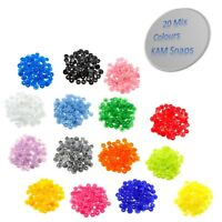 440pcs KAM Snaps T5 Plastic Snap Buttons Starter Poppers Fasteners for Sewing