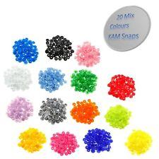 12mm 22 Colours KAM Snaps T5 Size 20 Popper Snaps Fastener Push Buttons 440pcs