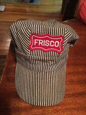 Vintage FRISCO Railroad CONDUCTORS Cap Hat