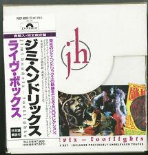 JIMI HENDRIX Footlights 4 CD Boxset WEST GERMANY JAPAN POCP-9009/12 w OBI s5132