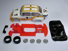 Kit Chasis 600 Abarth 1000 TC lineal + accesorios compatible SCX Scalextric ES