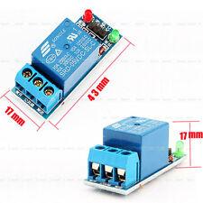 Nouveau 5V 1 Voie Module de Relais Low Trigger Pour Arduino ARM PIC AVR MCU DSP