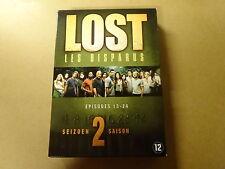 4-DVD BOX / LOST / LES DISPARDUS - SEIZOEN 2 - DEEL 2