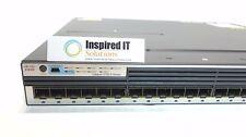 WS-C3750X-24S-S - Cisco Catalyst 3750X 24 Port GE SFP IP Base 350W