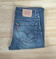 """Levis Mens Jeans Bootcut Denim Jeans W33"""" L34"""" Vtg - 2000401"""
