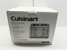 Cuisinart Stainless Steel 4-Slice Toaster with Shade Control Manufacturer Refurb