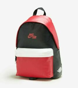 NWT Nike AIR JORDAN 1 MINI BACKPACK Travel Play RETRO GYM RED / BLACK 7A0390-KR5