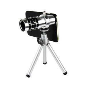 12X Zoom Optical Telescope Camera Lens with Mini Tripod & Case for iPhone 6 Plus