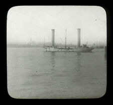 1926 Laterne Slide der Flettner Rotor Schiff backau, New York City, Baden Baden