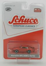1:64 SCHUCO European Classics *RED* Porsche 911 (930) Turbo *MiJo* NIP