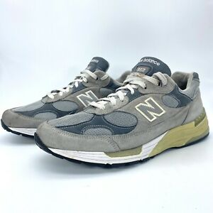 New Balance 992 Mens Size 11.5 2E M992GL Kith Grey USA Running Suede Shoes GUC
