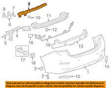 Chevrolet GM OEM 16-18 Cruze Rear Bumper-Center Support 84077172