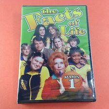 The Facts of Life Season 1(DVD/2014)Charlotte Rae/John Lawlor/Lisa Whelchel NEW!