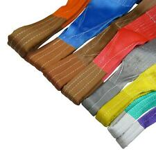 More details for lifting webbing sling strops polyester 1 - 15t capacities, 1 - 12 metre lengths