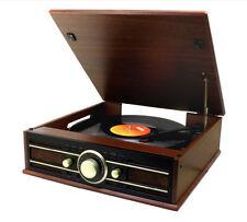 Soundmaster PL550BR braun Plattenspieler