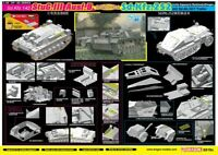 Dragon 6919X 1/35 StuG.III Ausf.B COMBO Set Sd.Kfz.252 mit Ah.32/1 Trailer Model