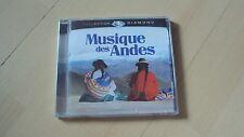 CD  MUSIQUE DES ANDES