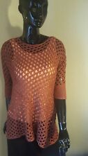 Simply Noelle Sparkle Open Weave Top. Nwt. Tank sold in different listing.