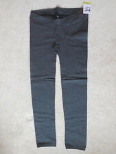 Maternity Pip Vine by Rosie Pope Plush Lined Seamless Leggings Size Large Gray