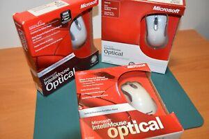 Microsoft Intellimouse Optical 1.1 - BNIB - X06 X08 X80