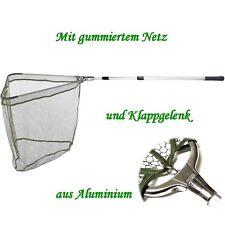 Kescher - Unterfangkescher Alu / Balzer 3,00m 3-tlg 60 x 60cm Netz gummiert