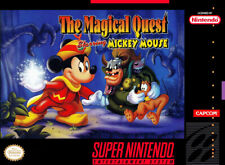 The Magical Quest Starring Mickey Mouse For Super Nintendo SNES 0E